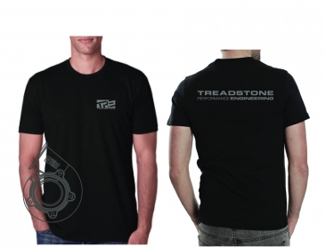 Treadstone T-Shirt Turbine Housing CAD - Black / Gray