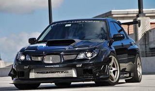 Subaru WRX STI Turbo Kit