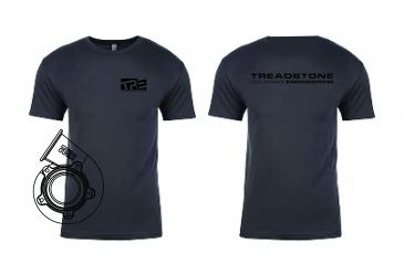 Treadstone T-Shirt Turbine Housing CAD - Gray / Black