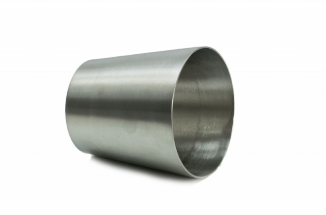 """T304 Stainless Steel 3.0"""" to 4.0"""" O.D. Reducer 4.0"""" Long"""