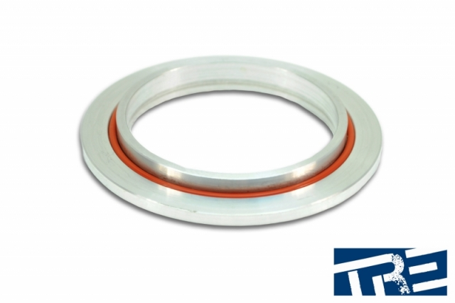 """GT42 GT45 And Precision Compressor Outlet Flange  With 3.5"""" V-Band Clamp ProMOD"""