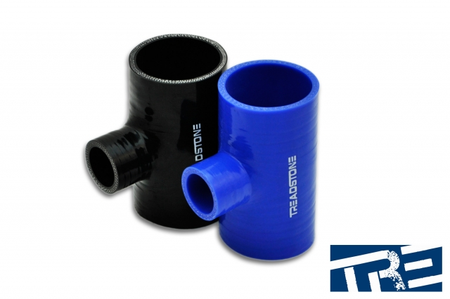 "Silicone Hose Couplers T Adapter 2"" - 1"" Spout"