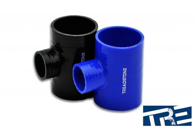 "Silicone Hose Couplers T Adapter 2"" - 1.375"" Spout"