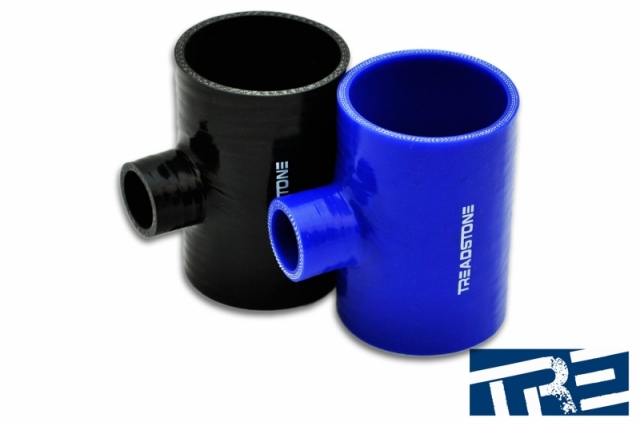 "Silicone Hose Couplers T Adapter 2.5"" - 1"" Spout"