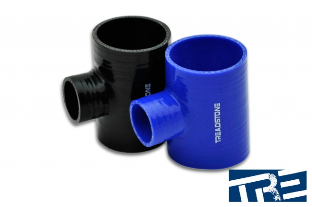 "Silicone Hose Couplers T Adapter 2.5"" - 1.375"" Spout"