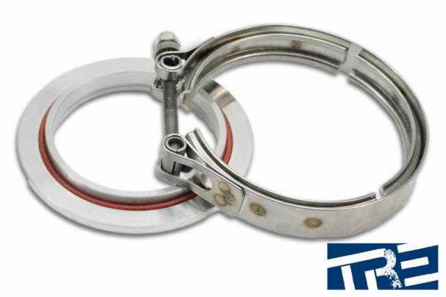 "GT42 GT45 And Precision Compressor Outlet Flange  With 4"" V-Band Clamp"