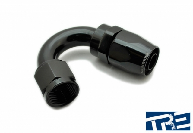 8 AN Swivel-Seal Hose End - 150 Degree