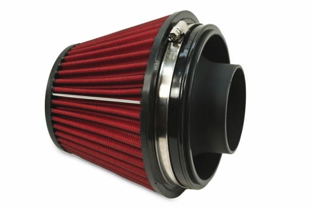 Universal Hi-Flow Air Filter + Velocity Stack, Medium
