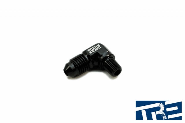 "90 Degree 4AN - 1/16"" NPT Adapter"