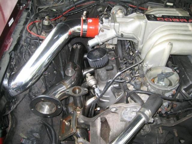 87-93 Mustang single turbo kit pipe kit
