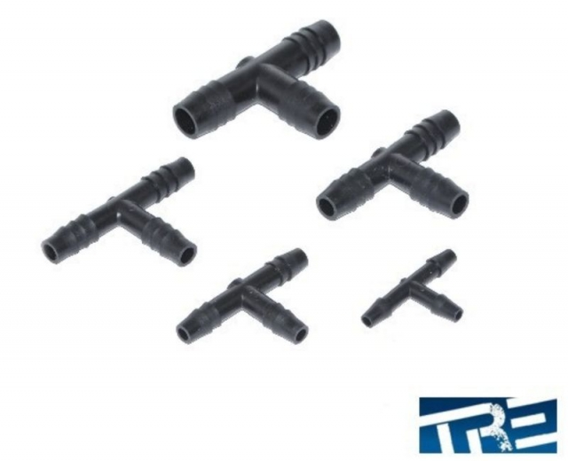Vacuum Tee Hose Connectors