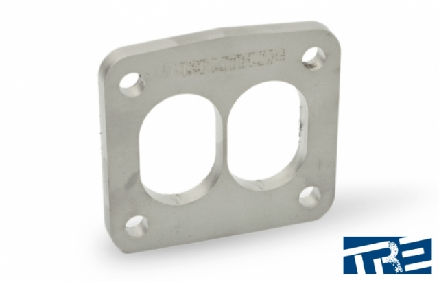 Stainless T4 Turbo Divided Inlet Flange