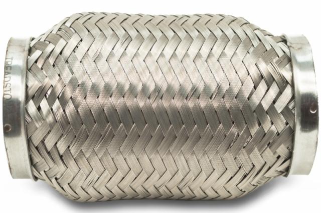 """2.25 """" Stainless Steel Exhaust Flex Coupler Bellow"""
