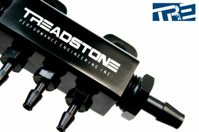 Treadstone 3-Port Vacuum Block