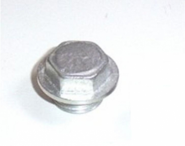 O2 Sensor Screw In Block Off Fitting Stainless Steel