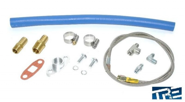 Turbo Universal Oil Supply and Drain kit