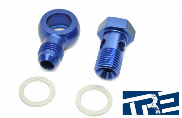 Banjo 14mm Water Feed Fitting -6AN  17 degree