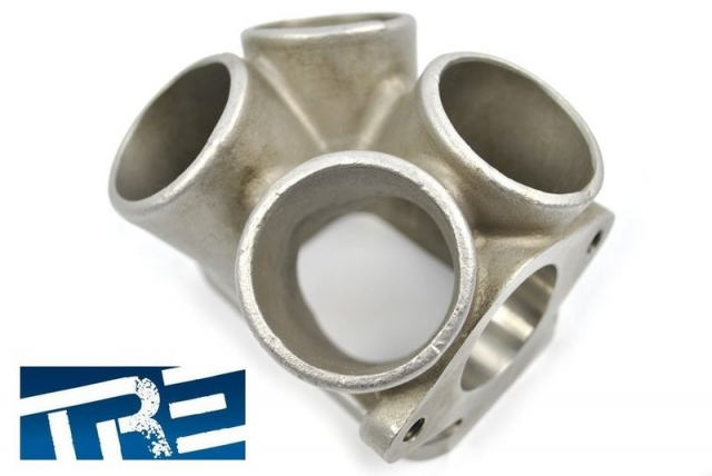 T3 Turbo Merge Collector Adapter, Cast 304 Stainless
