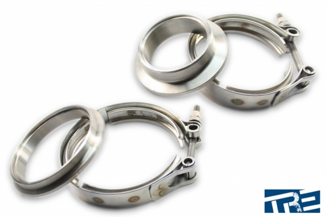 Precision V-Band in/out Turbine Housing Inlet V Band Flange