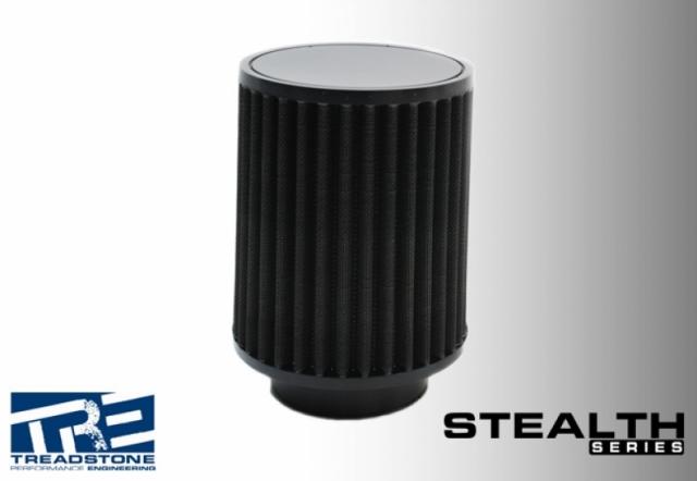 Stealth Black Air Filters, Skinny