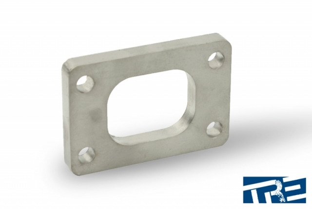 """T25 Stainless Turbo Inlet Flange 3/8"""" Thick"""
