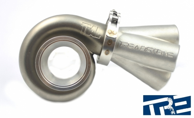 Turbo V-Band Merge Collector, 304 Stainless Steel
