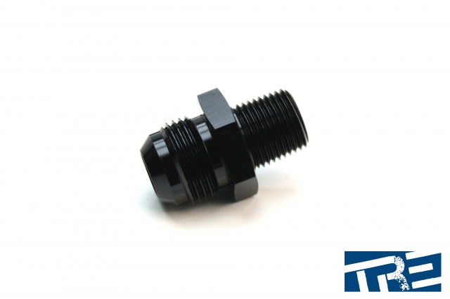 """12AN to 1/2"""" NPT Straight Adapter"""
