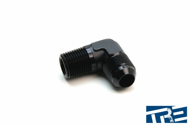 "10AN to 1/2"" NPT 90 Degree Adapter"