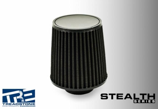 Stealth Black Air Filters, Medium