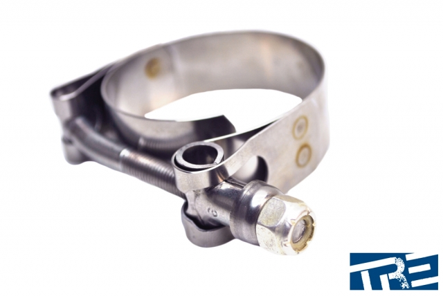"""Marine Grade 4"""" 316 Stainless Steel T-Bolt Clamps"""