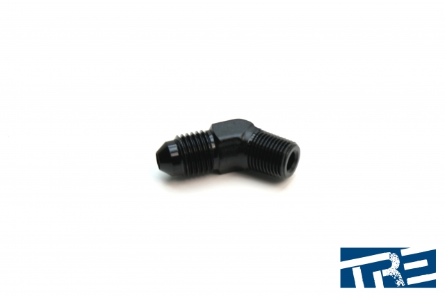 """4AN to 1/8"""" NPT 45 Degree Adapter"""