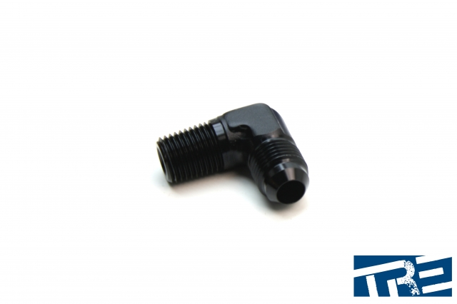 "4AN to 1/4"" NPT 90 Degree Adapter"