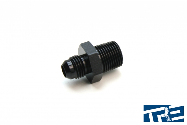 """6AN to 3/8"""" NPT Straight Adapter"""