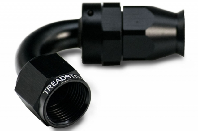 PTFE AN Swivel Hose End Fitting - 8AN 120 Degree