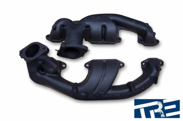 Treadstone Turbo Manifold Black Ceramic Powder Coating
