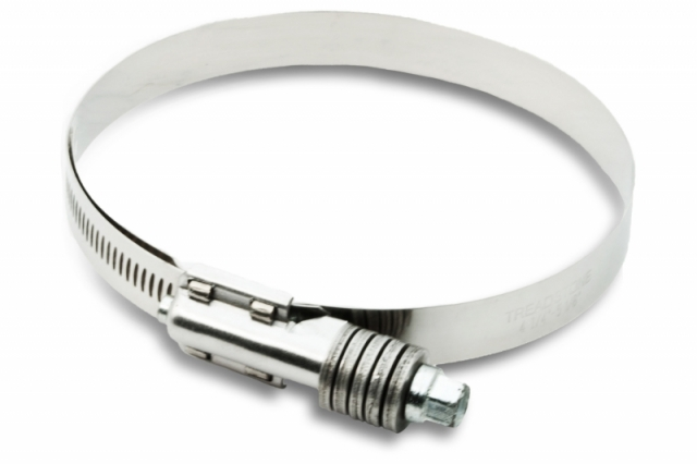 Constant Torque Heavy Duty Worm Drive Clamp - 3.5""