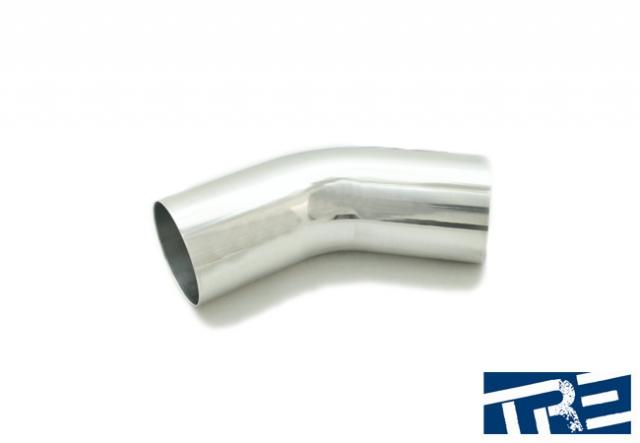 """3.5"""" Treadstone 45 Degree Aluminum Piping"""