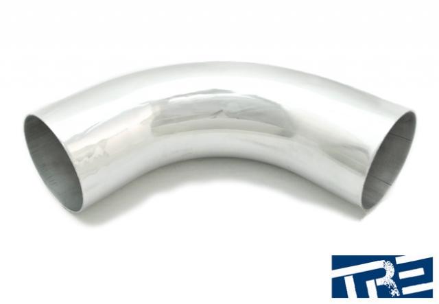 """4.5"""" Treadstone 90 Degree Aluminum  Piping"""