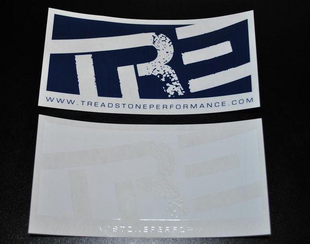 Treadstone Clear Vinyl Sticker
