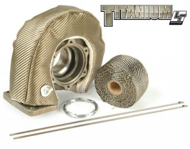 DEI T4 Titanium Turbo Shield Kit