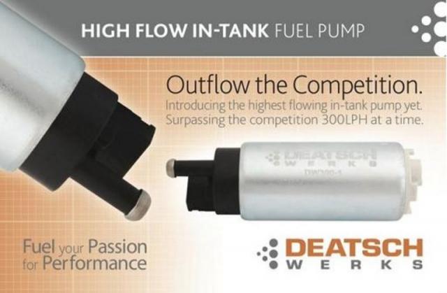 Deatschwerks Mitsubishi EVO 8/9 Fuel Pump 9-301-0847