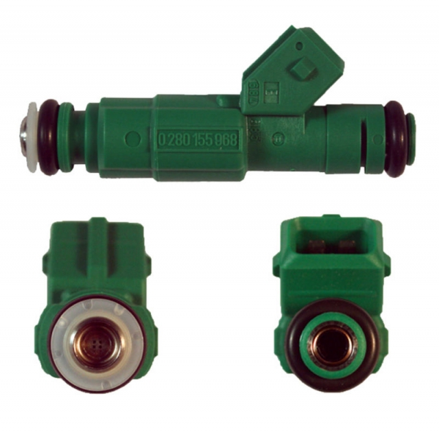 Bosch 42lb/hour Green Giant Fuel Injectors with EV1 Connector