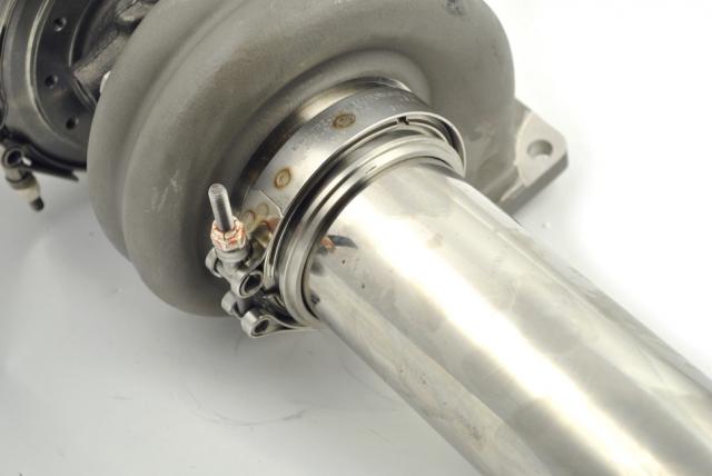 "Borg Warner EFR Turbine Housing V Band Flange 3.5"" Downpipe"