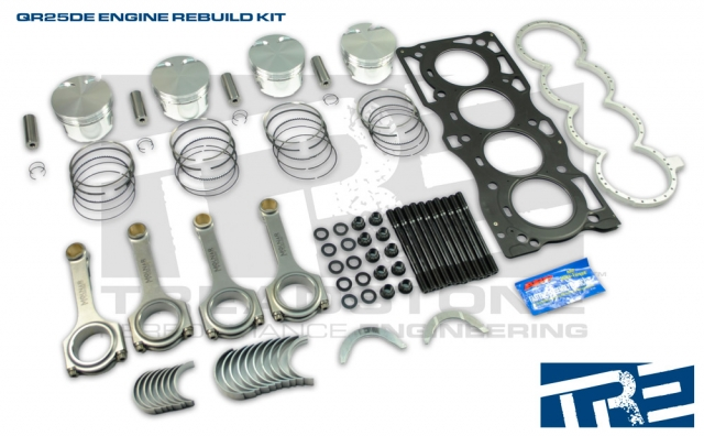 NISSAN SENTRA SE-R SPEC-V QR25DE High Performance Engine Rebuild Kit