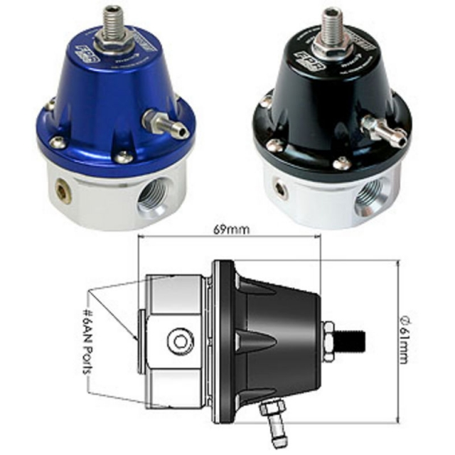 Turbosmart Fuel Pressure Regulator FPR-1200 TS-0401-1003