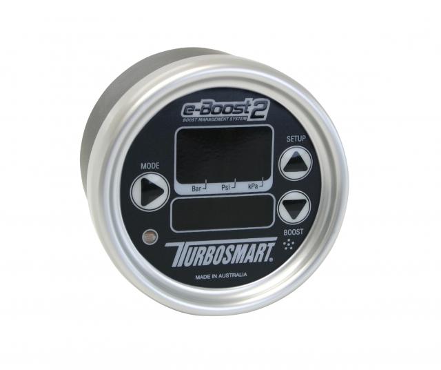 Turbosmart eB2 66mm Black Silver