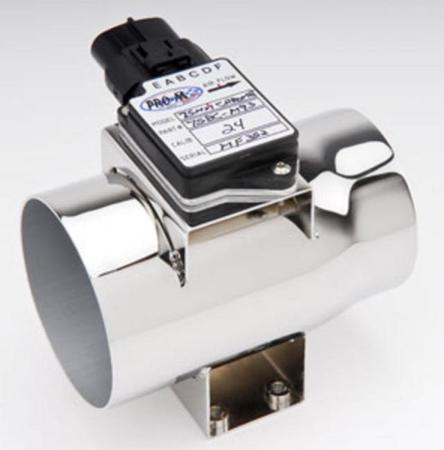 Pro-M 75MM Chrome Bullet Mass Air Meter