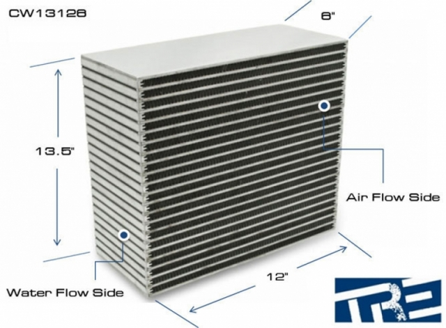 Water to Air Intercooler Core CW13126