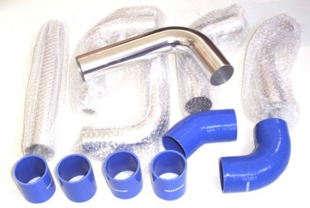 Universal Aluminum Pipe Kit with Silicone Couplers