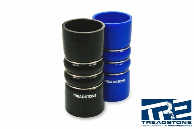 """2.50"""" Double Hump Silicone Hose Coupler"""